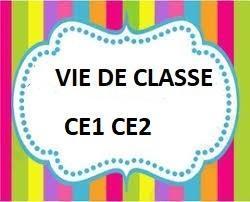 Vie de classe ce1 ce2 2