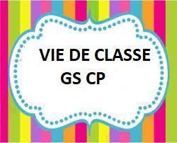 Vie de classe gs cp